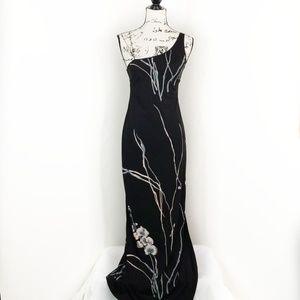 BCBG ▪︎ One Shoulder Maxi Dress